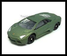 TOMICA #113 LAMBORGHINI REVENTON 1/65 Matte Green TOMY NEW DIECAST CAR