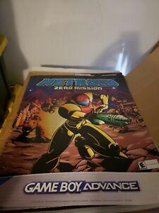 Metroid Zero Mission GBA promo poster