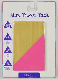Vivitar Universal Slim Power Bank Phone Charger 1800mAh