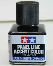 TAMIYA 87131 Panel Line Accent Color Black For Plastic Model Kit NEW