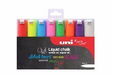 uni chalk marker PWE-8K liquid chalk pen chalk pen chalkboard blackboard 8 pack