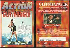 DVD - CLIFFHANGER avec SYLVESTER STALLONE / COMME NEUF - LIKE NEW