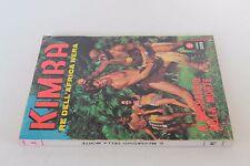 fumetto KIMBA RE DELL'AFRICA NERA n° 5 (Ponzoni, 1970)