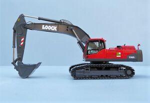 "NZG 811.01 VOLVO EC460CL Excavator ""LOOCK COLLECTORS EDITION"" 1:50 NEW"