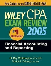 Wiley CPA Examination Review 2005, Financial Accounting and Reporting (Wiley Cpa