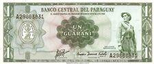Paraguay: 1 Guarani 1952 SC