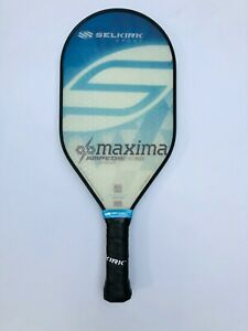 Selkirk Sport Pickleball Paddle AMPED Maxima Lightweight Blue New