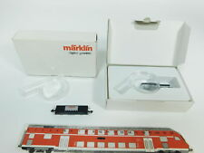bc529-0,5 #2x Märklin mini-club Z / DC Carro pianale DIGITALE VINCE, NUOVO +