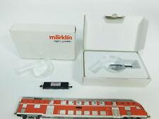 bc529-0, 5 #2x Märklin MINI CLUB Z / DC Vagón plataforma Digital Gana, NUEVO +