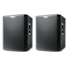 "2 x Alto TS218S 18"" 2500W Powered Active DJ Band PA Subwoofer Sub Bass Speaker"