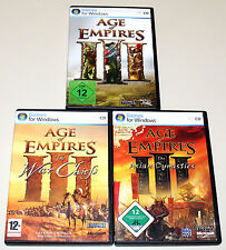 Age of Empires III-COMPLETE-era Chiefs Asian Dynasties - 3 PC prime edizioni