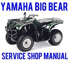 BEST 1987 1988 1989 1990 Yamaha Big Bear YFM350 350 4x4 Service Repair Manual CD