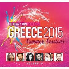 Greece 2015 summer sessions vol 16 by DJ Krazy Kon  cd new sealed