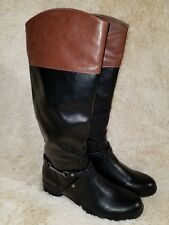 NAUTICA Womens Tall Equestrian Riding Boots SZ 10