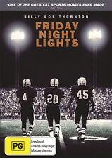 Friday Night Lights (2004) Billy Bob Thornton - NEW DVD - Region 4