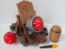 Playmobil Castle knight/Pirate weapon: Big firing cannon with barrel & torch NEW
