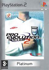 Pro Evolution Soccer 2 (Platinum) PS2 (PlayStation 2) - Free Postage - UK Seller