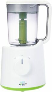 Philips Avent 2-In-1 Healthy Baby Food Maker Combined Electric Steamer Blender