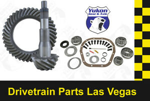 """FORD 10.25"""" & 10.5"""" 5.13 RATIO RING AND PINION MASTER INSTALL YUKON GEAR PACKAGE"""