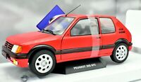 Coche Auto Escala 1/18 Peugeot 205 Gti diecast Solido Colección miniaturas