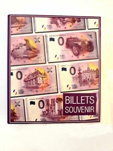 """Album SAFE pour billets Euro Souvenir 2019, SANS le """"Pont-Neuf"""" 2018-1"""