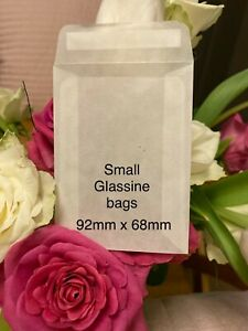 Glassine Bags Eco Confetti Craft Wax Melts Biodegradable Peel & Seal 92mm x 68mm