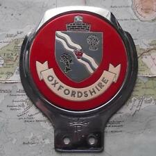 Used Chrome Car Mascot Badge : Oxfordshire by Renamel