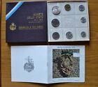 CONFEZIONE REPUBBLICA SAN MARINO SERIE 8 MONETE IN LIRE ANNO 1974 FDC SUBALPINA