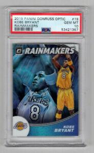 Kobe Bryant 2019 Donruss Optic Rainmakers #19 Lakers PSA 10 Gem Mint 1367