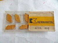 5 NEW KENNAMETAL NG4150L  KC810 LH Carbide Turning Inserts Free US Shipping