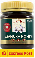 New Zealand Nelson MANUKA HONEY MG 30+ 250g ~ Tested Pure Premium GMO Free