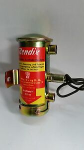 Porsche 911 S, R, ST, Bendix style fuel pump with factory M12x1.5 threads