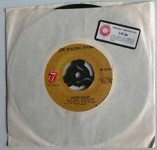 """THE ROLLING STONES - Brown Sugar/Bitch 7"""" - Rare 1973 US Import. Mint Condition"""