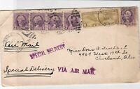 united states 1934 special delivery  stamps cover ref 20001