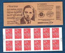 Carnet - 3744b C9 - 1er Jour - Type Marianne de Lamouche - TVP rouge N° 3744b -