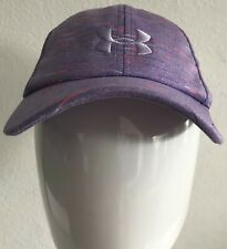 Under Armour Youth Girls Hat Heatgear Free Fit One Size Cap NWT 1328566 589