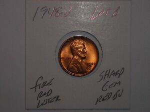 1948-D  LINCOLN WHEAT CENT #3
