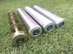 "Scott Bonnar front rollers 17"" - Stainless Steel, aluminium etc."
