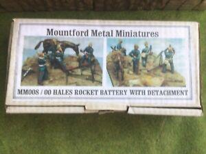 Zulu War. Hales Rocket Battery Mountford Metal Miniatures 54mm metal soldier kit