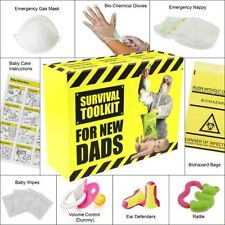 DAD/DADDY TO BE SURVIVAL KIT - fun novelty gift for baby shower new dad gift
