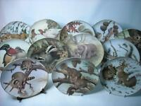 Choose ONE OR MORE Plates THE FOREST YEAR Collectors Studio Plate John Francis