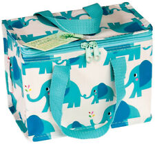 Eco Elvis Elephant Woven Thermal Cool Bag Lunch Box School/Leisure 14x20x15cm