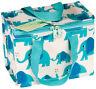 Eco Elvis Elephant Woven Thermal Cool Bag Lunch Box School/Leisure 14x20x15cm