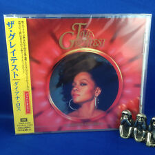 DIANA ROSS: The Greatest (RARE NEW 1998 JAPANESE Limited Edition CD TOCP-51078)