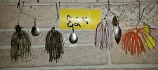 Lot Of 4 New Booyah Spinnerbaits  (Lot#824 )