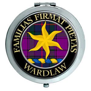Wardlaw Clan Escocés Espejo Compacto