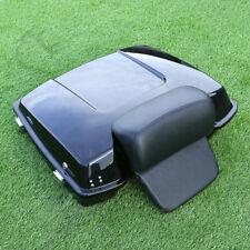 Razor Tour Pak Pack Trunk + Backrest Pad For Harley Street Electra Glide 97-13
