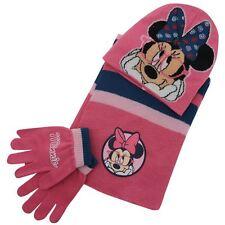 Disney  *Minnie Mouse* Winterset 3tlg.Mützenset Handschuhe Schal Mütze