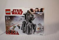 LEGO Star Wars 75177 First Order Heavy Scout Walker Factory Sealed (Retired) NEW