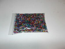 16000pcs 3mm Acrylic Faceted Transparent BICONE Beads Assorted Mixed (200g)